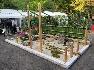 もう一つの制作課題「和モダンの小さな庭」