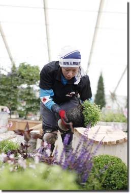2013技能五輪ライプツィヒ大会「造園」
