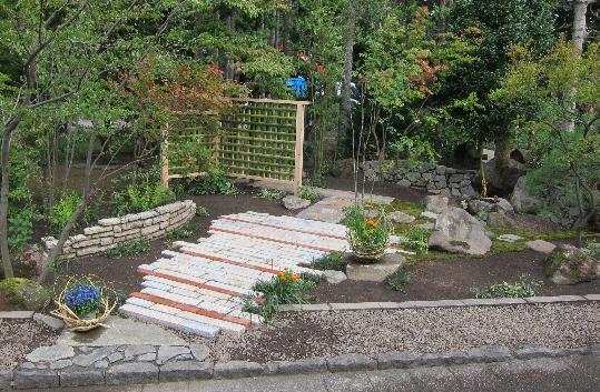 庭づくり塾 完成庭園